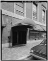 View west, Washington St. entrance - Providence Biltmore Hotel, 11 Dorrance Street, Providence, Providence County, RI HABS RI,4-PROV,183-4.tif