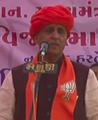 Vijay Rupani speaking in Patan.png