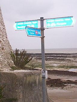Viking Coastal Trail at Beresford Gap - geograph.org.uk - 1035486