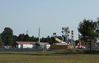 Vilas County, Wisconsin - Image: Vilas County Fair rides 2015