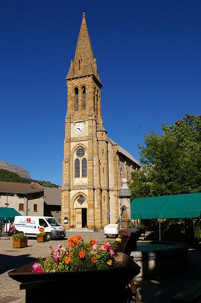 Villar-d'Arene (depart. Hautes-Alpes), Eglise St Martin