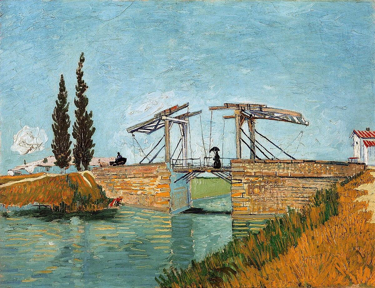 Langlois Bridge At Arles Wikipedia