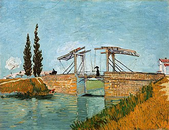 Langlois Bridge at Arles - Image: Vincent Van Gogh 0014