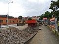Vinohrady, Bělehradská, rekonstrukce TT, mezi mosty.jpg