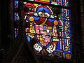 Vitrail basilique Bonsecours blason de Croy.JPG