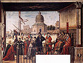 Vittore carpaccio, Arrival of the English Ambassadors 07.jpg