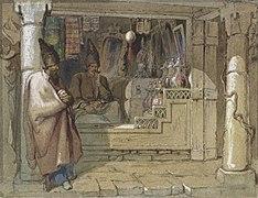 Vittorio Amadeo Preziosi The Spice Sellers