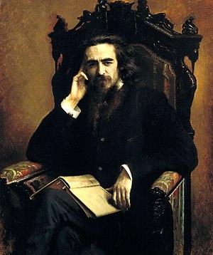 Vladimir Solovyov (philosopher) - Solovyov by Ivan Kramskoy, 1885