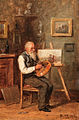 Vladimir Makovsky The artist in his studio.jpg