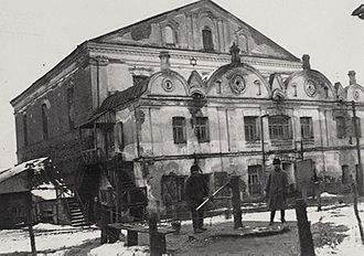 Volodymyr-Volynskyi - Great Synagogue, was destroyed by Soviet regime after World War II