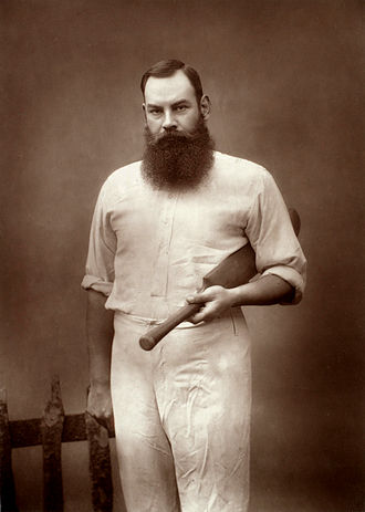 W. G. Grace - Portrait of Grace by Herbert Rose Barraud, c. late 1880s
