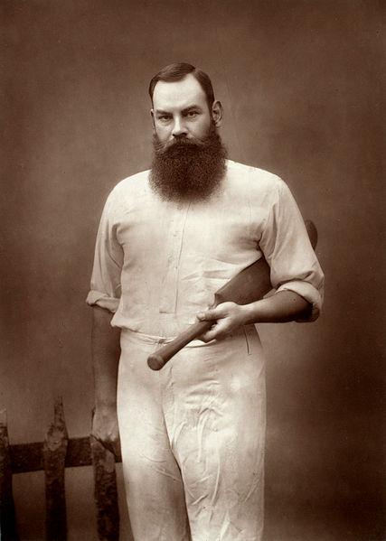 File:W. G. Grace, cricketer, by Herbert Rose Barraud.jpg