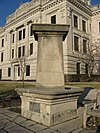 WCTU fountain at the Monroe County Courthouse in good weather.jpg