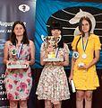 WChJ Athens 2012 - women podium.jpg