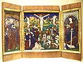 WLA taft Triptych with Calvary Sts James and Catherine of Alexandria.jpg