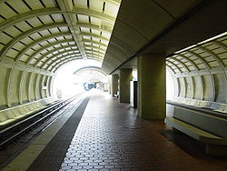 WMATA Fort Totten station lower level.jpg