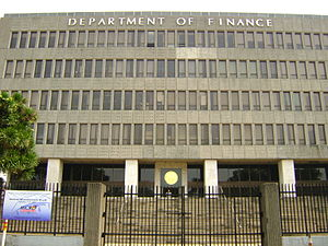 Department of Finance (Philippines) - Image: WTMP A trio a 8 1