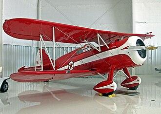 Waco F series - Waco ZPF-6 three-seat executive aircraft built for Texaco Oil in 1936. Preserved airworthy at Sebring, Florida