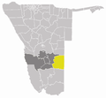 Wahlkreis Aranos in Hardap.png