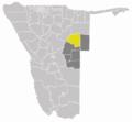 Wahlkreis Otjinene in Omaheke.png