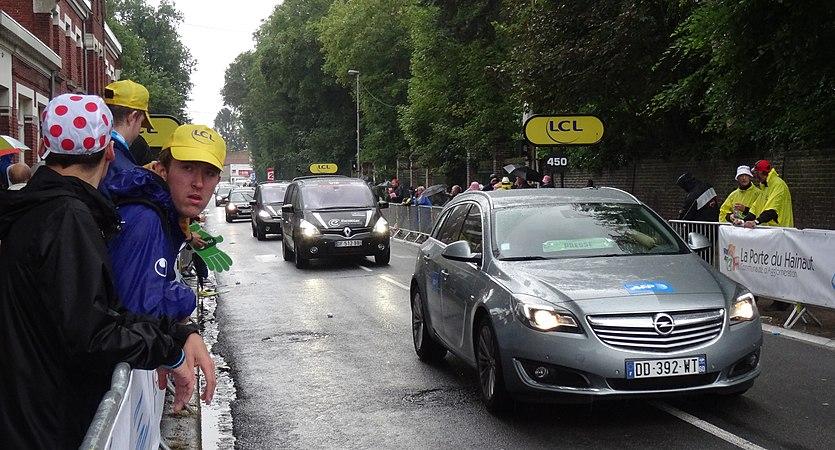 Wallers - Tour de France, étape 5, 9 juillet 2014, arrivée (A54).JPG
