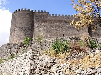 Siege of Amida - Walls of Amida fortress.