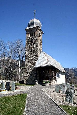 Waltensburg/Vuorz - Image: Waltensburg Kirche