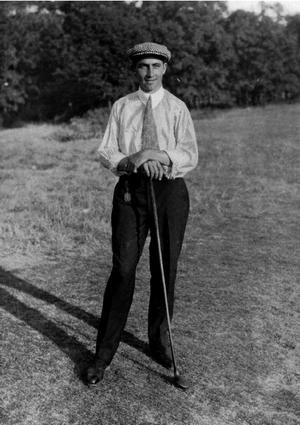 Walter Hagen - Hagen in 1914