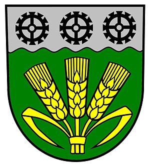 Elstertrebnitz - Image: Wappen Elstertrebnitz