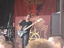 Mikrofono Todd ĉe Warped Tour '07