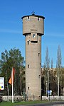 Water tower in Korolyov, Kaliningradskaya Street.jpg