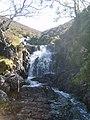 Waterfall, Deep Gill - geograph.org.uk - 1495292.jpg