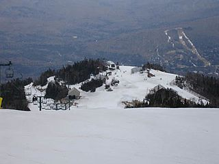 Waterville Valley Resort ski resort in Grafton County, New Hampshire, USA