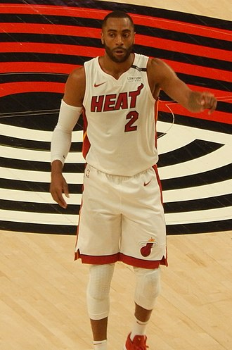 Wayne Ellington - Ellington with the Heat in March 2018