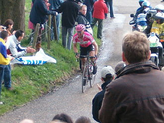 Amstel Gold Race - Steffen Wesemann on his way up Eyserbosweg in 2006.