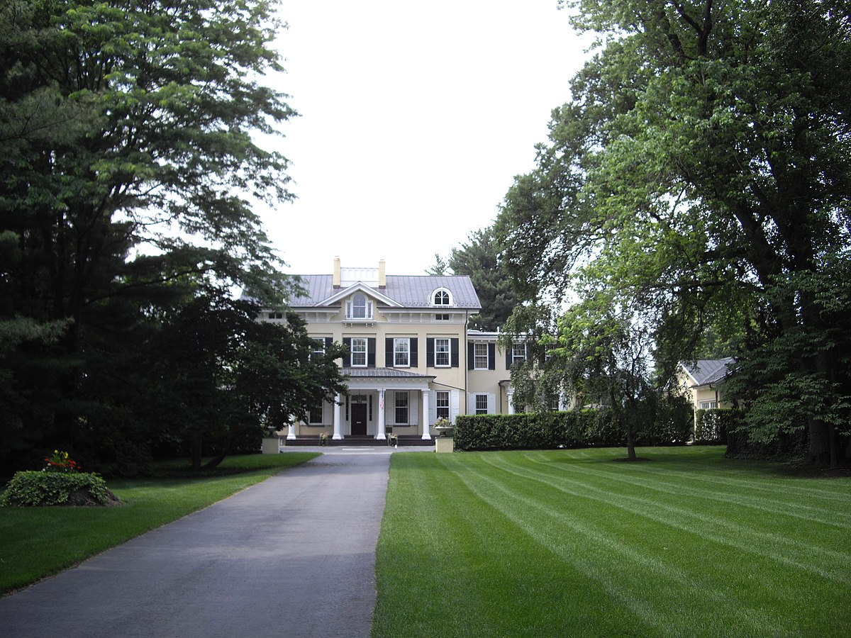 Westland mansion wikipedia for The princeton house