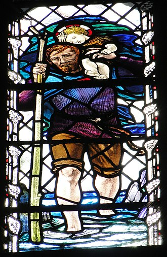 Christopher Whall works in Gloucester Cathedral - Memorial window to Christopher Whall