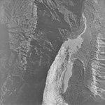 White Glacier, valley glacier terminus and ice-marginal lake, September 17, 1972 (GLACIERS 5975).jpg