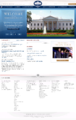 White House homepage late 2009-01-20 (3-Welcome to the new whitehouse.gov).png