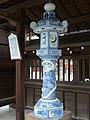 White porcelain Toro at Matsubara Shrine.jpg