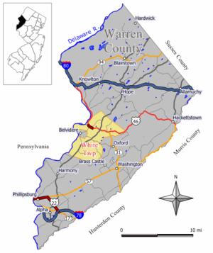 White Township, New Jersey - Image: White twp nj