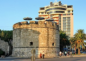 Venetian Tower of Durrës.