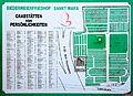 Wien - St. Marxer Friedhof, Lageplan von Grabstätten.JPG
