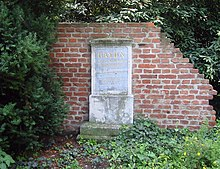 Das ehemalige Grabmal in Wien (Quelle: Wikimedia)