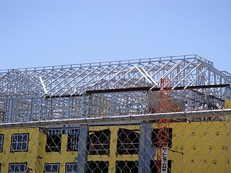 Cold-formed steel - Cold-formed steel building
