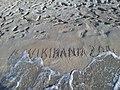 Wikimania 2014 sand.jpg