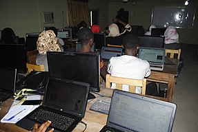 Wikipedia 23 at Fountain University Osun state Nigeria.jpg