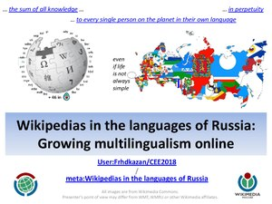 Wikipedias in the languages of Russia CEE2018 version.pdf