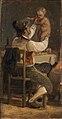 Wilhelm Marstrand, Faderglæde, ca. 1839, 0100NMK, Nivaagaards Malerisamling.jpg