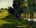 Willard Leroy Metcalf - Sunlight and Shadow - Google Art Project.jpg